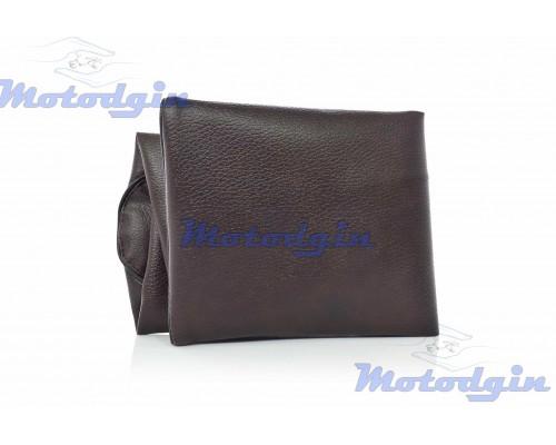 Чехол сидения Crea AF54 коричневый с черным кантом jd