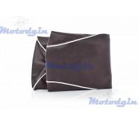 Чехол сидения Yamaha Vino 5AU коричневый белый кант jd