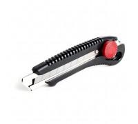 Нож с металлической направляющей и винтовым фиксатором Intertool