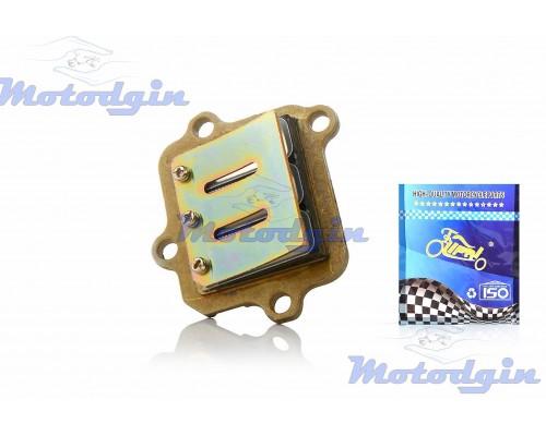 Лепестковый клапан Yamaha Jog 90- Axis 90