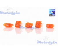 Кнопки руля набор Honda Dio AF18 прозрачные