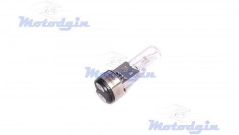 Лампа в фару BA20D (2 уса) мини