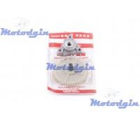 Масляный насос GY6-50/80 с шестерней привода