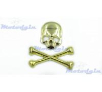 Наклейки объемные Skull Bones