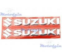Наклейки буквы Suzuki объемные