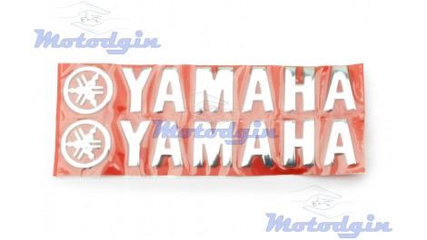 Наклейки буквы Yamaha объемные