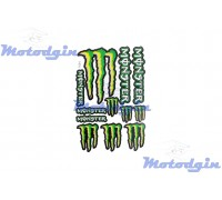 Наклейки спонсор Monster Energy #7054