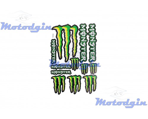 Наклейки спонсор Monster Energy #7054