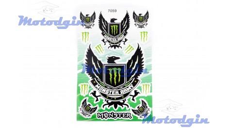 Наклейки спонсор Monster Army #760