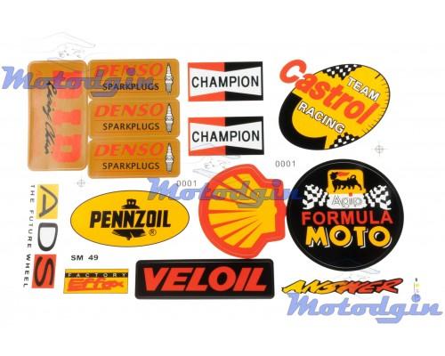 Наклейки производители мультибренд Champion #0001