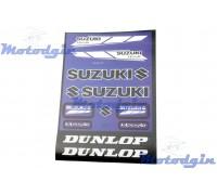 Наклейки Suzuki набор #5839C