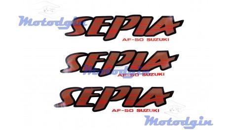 Наклейки Suzuki Sepia