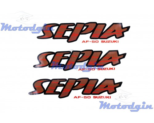 Наклейки Suzuki Sepia 0173