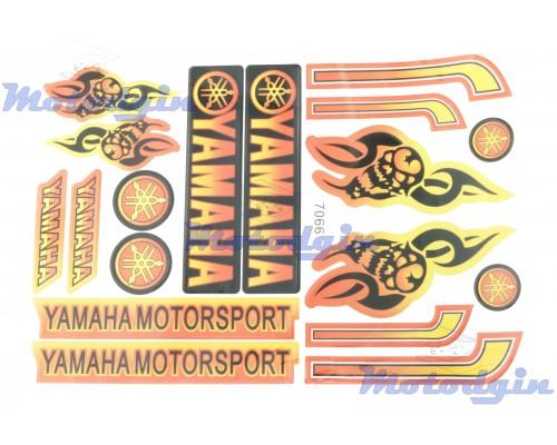 Наклейки Yamaha Skull #7066