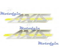 Наклейки Yamaha Axis #0634