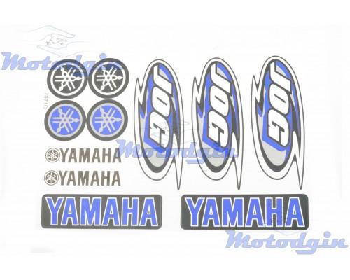 Наклейки Yamaha Jog синие #7071A