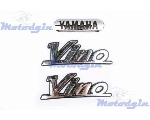 Наклейки буквы Yamaha Vino объемные