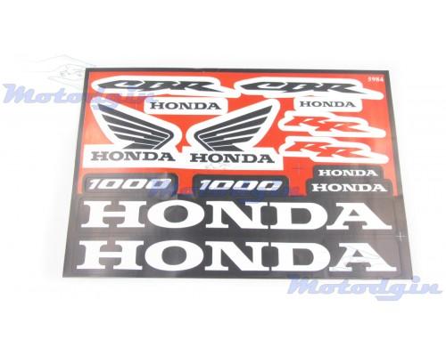 Наклейки Honda CBR набор #5984