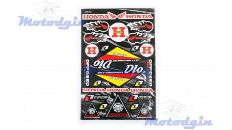 Наклейки Honda Dio #5987D