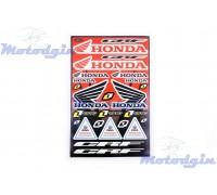 Наклейки Honda набор #5987