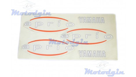 Наклейки Yamaha Jog Aprio #5
