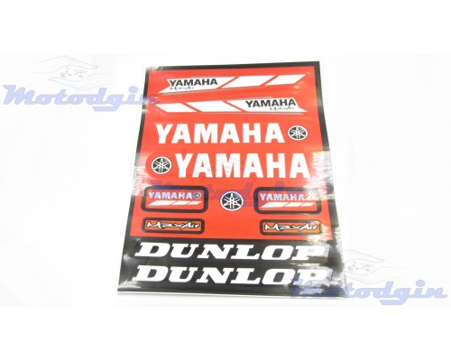 Наклейки Yamaha набор #281027