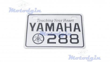 Номерной знак декоративный Yamaha