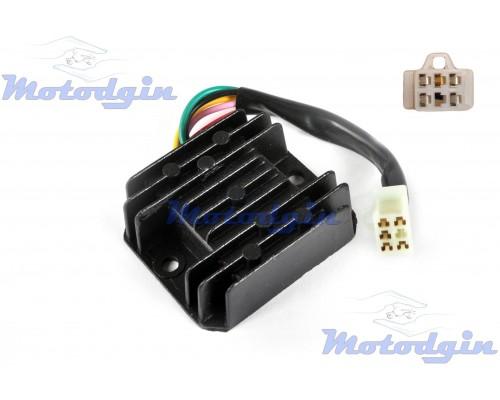 Реле зарядки GY6 125/150 ( 5 контактов мама )