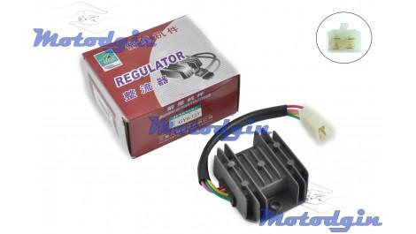 Реле зарядки GY6 125/150 ( 4 провода ) Jianxing