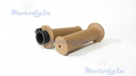 Ручки руля коричневые