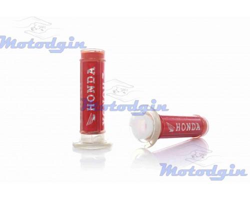 Ручки руля силиконовые с логотипом