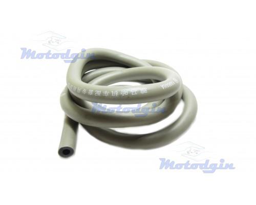 Топливный шланг серый двухслойный