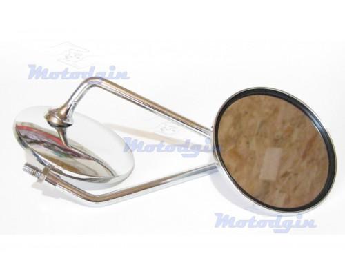 Зеркала Yamaha Vino круглые хром